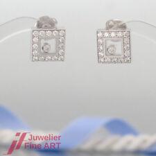 Chopard Ohrringe - HAPPY DIAMONDS - 18K/750 Weißgold-34 Brillanten 0,77ct - NEU!