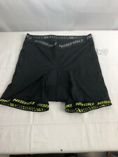 Nishiki Cycling Bike Shorts Men'S Large Black Padded Mesh Light Guc