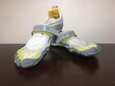 best sneakers 92d9f 0c276 Men s VIBRAM FIVEFINGERS BIKILA Gray Green Yellow Running Shoes Toes 40 8-9  M345