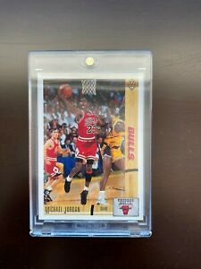 Michael Jordan Upper Deck 91/92 Basketball Card Inside Case