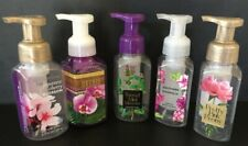 Bath & Body Works BBW (5) SOAP DISPENSERS Soap Pump BOTTLES EMPTY Re-use Refill