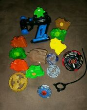 Mixed Lot of Beyblades and Accessories