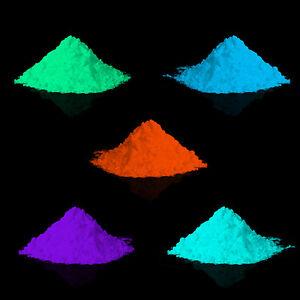 lumentics Leuchtpulver Nachleuchtpulver Leuchtpigment für Harz, Lack und Farbe