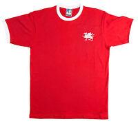 Retro 1970's Leyton Orient Football T Shirt Embroidered Logo Dragon Sizes S-XXXL