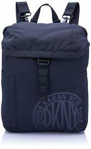 """DKNY 17"""" Computer Laptop Backpack Travel Bag - Black"""