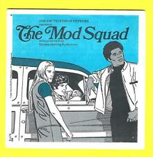 VIEWMASTER BOOKLET ONLY - MOD SQUAD - Linc Julie Pete  TV SHOW 1968 !