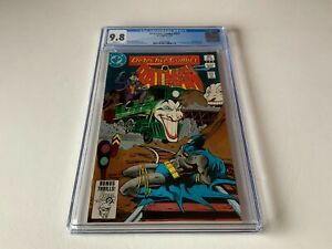DETECTIVE COMICS 532 CGC 9.8 WHITE PAGES JOKER RAILROAD TRAIN DC COMICS 1983