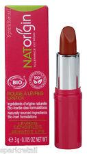 NATOrigin Organic 100% Natural LIPSTICK 3g FIGUE/FIG Matte Plum Red