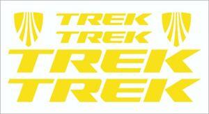 Trek frame stickers decals bicycle mtb road bike bmx cycle sl alr set red black