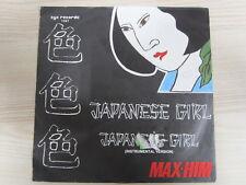 Single /  Max-Him – Japanese Girl  / DISCO / 1985 / ZYX 1167 / DE PRESS /