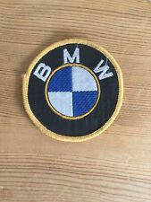 Vintage Sew On BMW Patch Collector Item