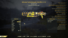 (PC) Anti Armor +25% schneller Feuer Rate 15% RELOAD Tesla Gewehr