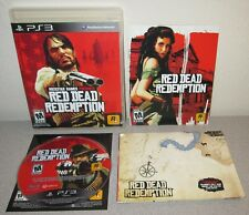 RED DEAD REDEMPTION PlayStation 3 Complete w/Map Orig Black Label w/Hype Sticker