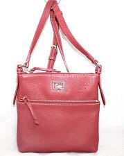 DOONEY & BOURKE Dillen II 6L935 Letter Carrier 8 x 9 Red Leather Crossbody Bag