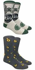 Novelty Fun Crew Print Socks for Dress or Casual (Show me the money 2pack)