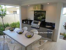 OUTDOOR KITCHEN Alfresco PRESTIGE Engineered Stone + Marine Plywood  $5990 value