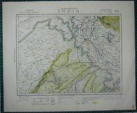 1883 CA Map Encinitas Escondido Fairfield Florence Graham CALIFORNIA History BIG