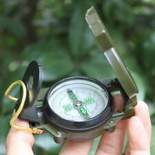 Military equipment Watch Pocket Compass Magnifier camping Camping Marching FS