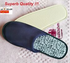 LUXURY SPA HOTEL GUEST MEN WOMEN SLIPPERS CLOSED TOE TOWELLING TERRY TYPE UK 10