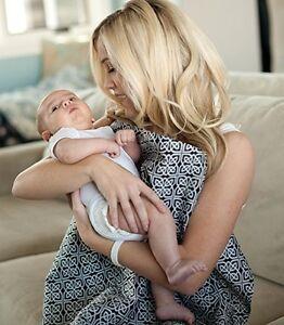Udder Covers Breast Feeding Nursing Cover rigid neckline for eye contact Mason