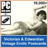 16,000+ Vintage Artistic Victorian & Edwardian Erotic Risque Postcard Images UK