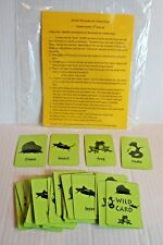 Science Food Chain Educational Card Game Sequencing Activity Grades 2-3 New