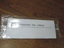 Squaring the circle Magic Trick