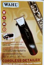 Wahl Professional 8163 5-Star Series Detailer Cordless Rotary Motor Trimmer New