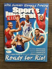 KEVIN DURANT (Olympics) signed Sports Illustrated for Kids magazine ~~ JSA/COA