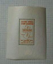 1937 Stamp Expo Essex Nj Philatelic Souvenir Label Ad