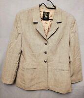 Vintage Hart Schaffner & Marx Boy's sz 12R Worsted Wool Gray Blazer Suit Jacket