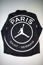 PSG x Nike Air Jordan Coaches Jacket Black Jacke Größe: XL