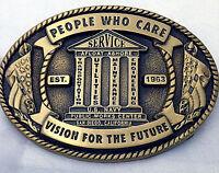 U.S. Navy Public Works Center Custom Belt Buckle (Solid Brass)