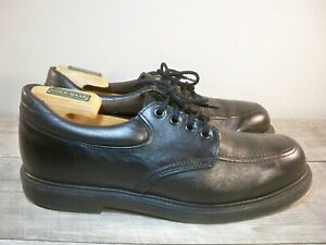 Red Wing Black Leather Non Steel Toe Delivery Mail Man Oxfords Men's Shoes 10.5