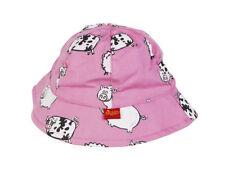 Chapeaux rose pour fille de 2 à 16 ans en 100% coton