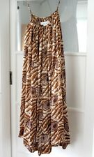 Malene Birger silk print woman's summer dress, size 10/12