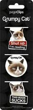 Trends International Grumpy Cat Magnetic Page Clip Bookmark