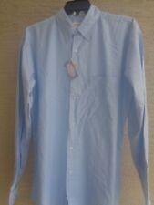 FeatherLite  LT  Cotton Blend Oxford  Stain Resistant  L/S Button Front Shirt