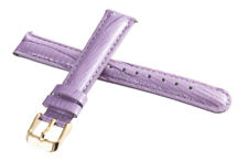 Invicta Women's 16mm x 14mm Lavender Lizard Leather Rose Gold Buckle Watch Band