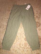 zara women clothing, Pants Size L , Green