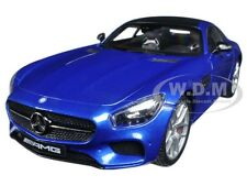 MERCEDES AMG GT METALLIC BLUE EXCLUSIVE EDITION 1/18 MODEL CAR BY MAISTO 38131