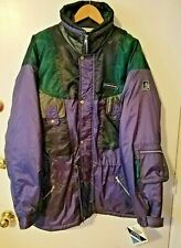 SKIGEAR 100% Nylon Zippered & Buttoned Ski Jacket, Men's Size 44 New With Tag