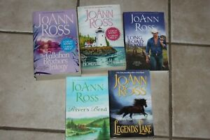 JoAnn Ross Romance Lot 5 paperback books