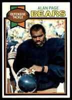 1979 Topps #15 Alan Page HOF Chicago Bears / Notre Dame / Vikings