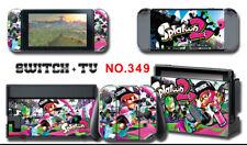 Vinyl Decal Skin Sticker Protector for Nintendo Switch Splatoon2 #349