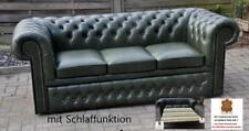 Chesterfield Devon  3 Sitz  Schlaf Sofa A100 Härtegrad 100