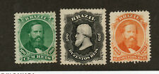 Brazil - Sc# 58 - 60 Mint no gum  / Attractive Group  /      Lot 1120631