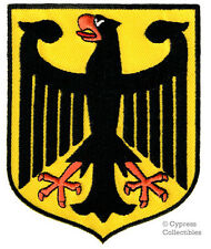 GERMANY EAGLE SHIELD BIKER PATCH EMBROIDERED IRON-ON GERMAN Aufnäher COAT ARMS