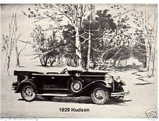 1929 Hudson  Auto  Refrigerator Magnet