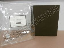 Pottery Barn Classic 400 Thread Count Bed Sheets Set Cal King Deep Fit Espresso